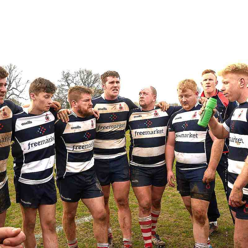 Cro XV vs Parkhouse -  Home 23rd March 2019