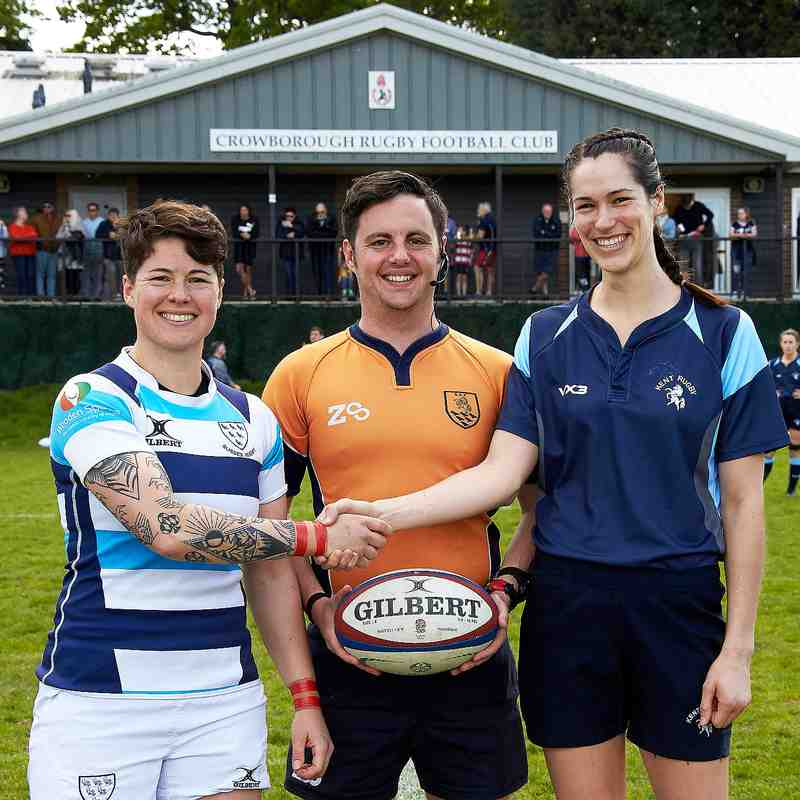 Kent vs Sussex Ladies Match @ CRFC 12th May 2019