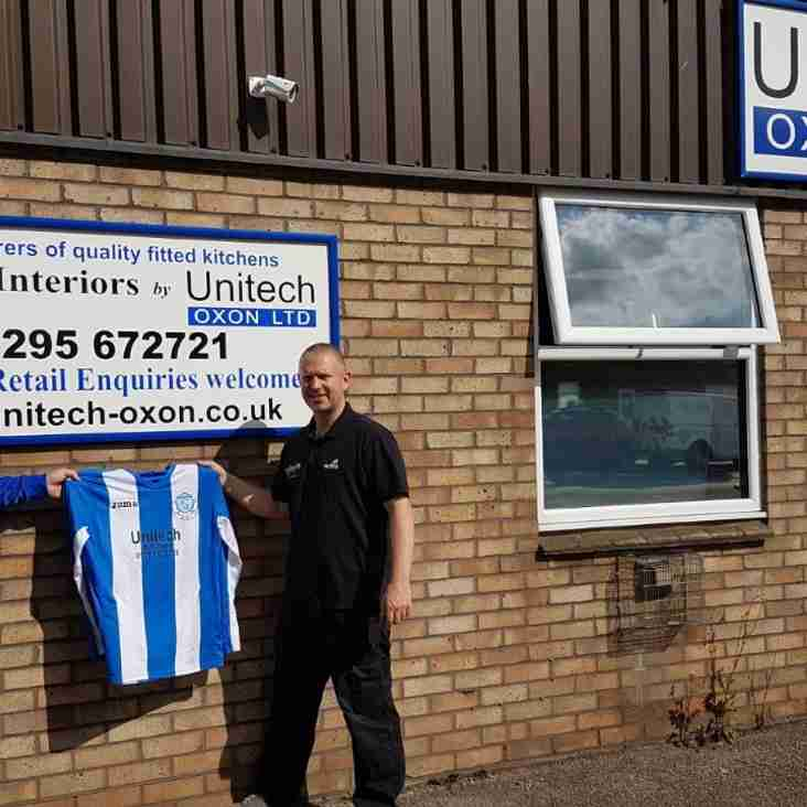 Unitech become Under 18s Kit Sponsor