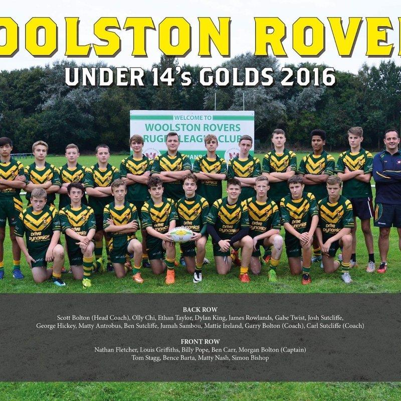Under 14s Golds beat Waterhead Warriors 4 - 28
