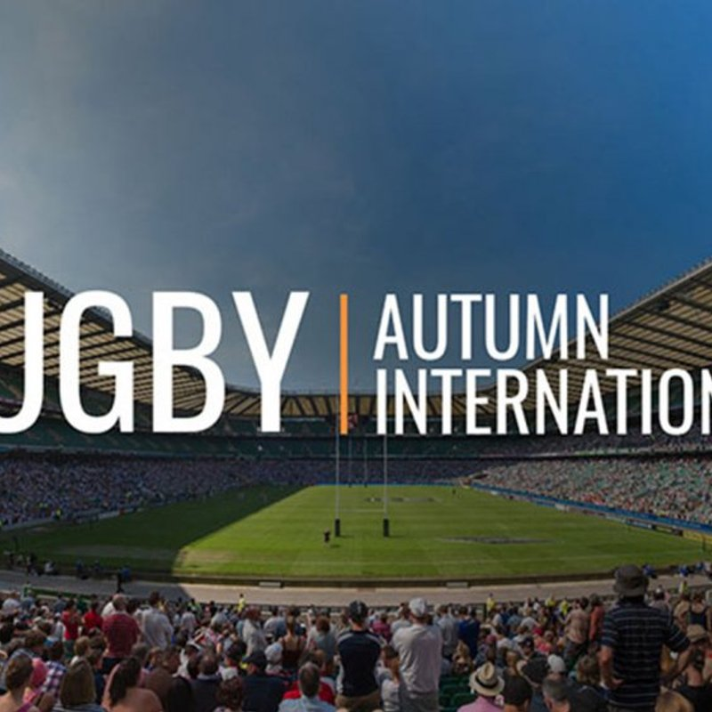Autumn International Series Ticket Applications Now OPEN