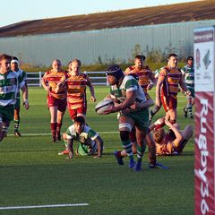Billingham Lions 38 v Middlesbrough Wasps 15  2017-18  Home