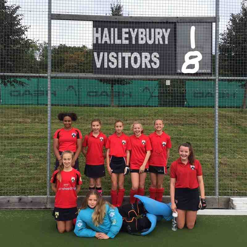 Girls Under 14s 2016/2017 Season