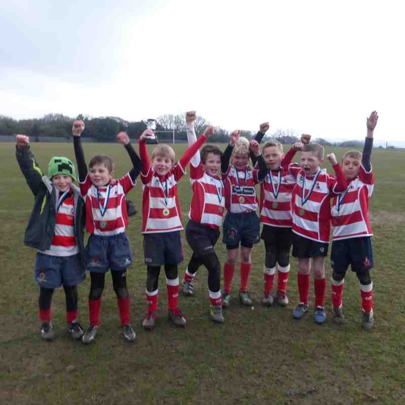 2015 - Under 8's Sussex Regional Final Champions - Hastings