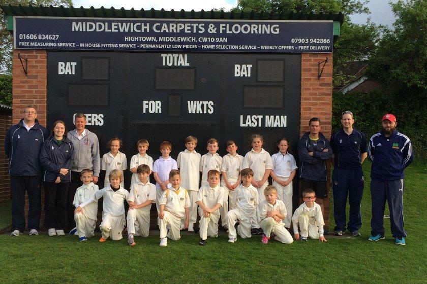 Middlewich CC - Under 9 B vs. Haslington CC - Under 9