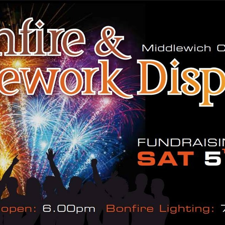MCC Bonfire &amp; Firework Night<