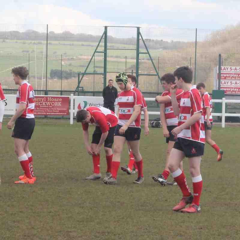 Crowborough Colts v Brighton A