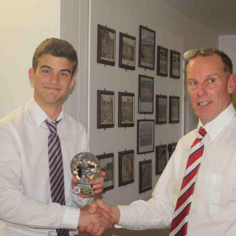 Matt Black - U17 Player of the Year