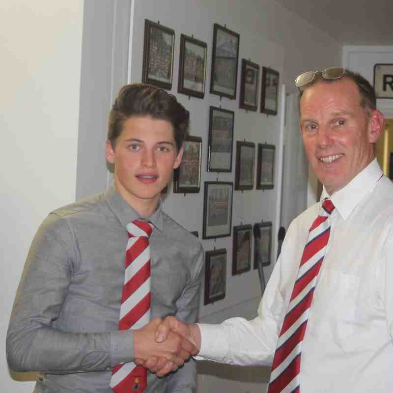Harry Marchesi - U16 Player of the Year