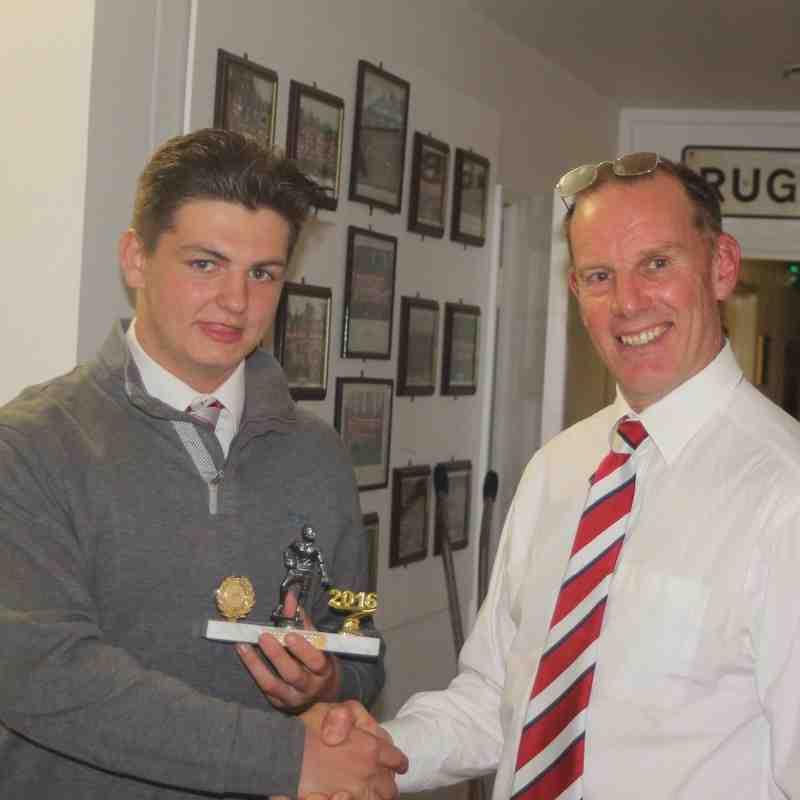 "Will Bath - ""Tony"" Tour Player Award"
