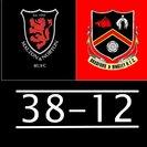 MALTON & NORTON 38pts  BRADFORD & BINGLEY  12pts