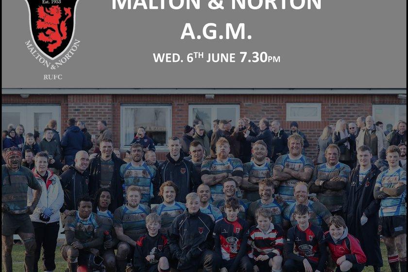 Malton & Norton RUFC A.G.M