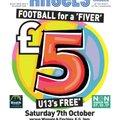 """Football for a """"Fiver"""" - Non League Day"""