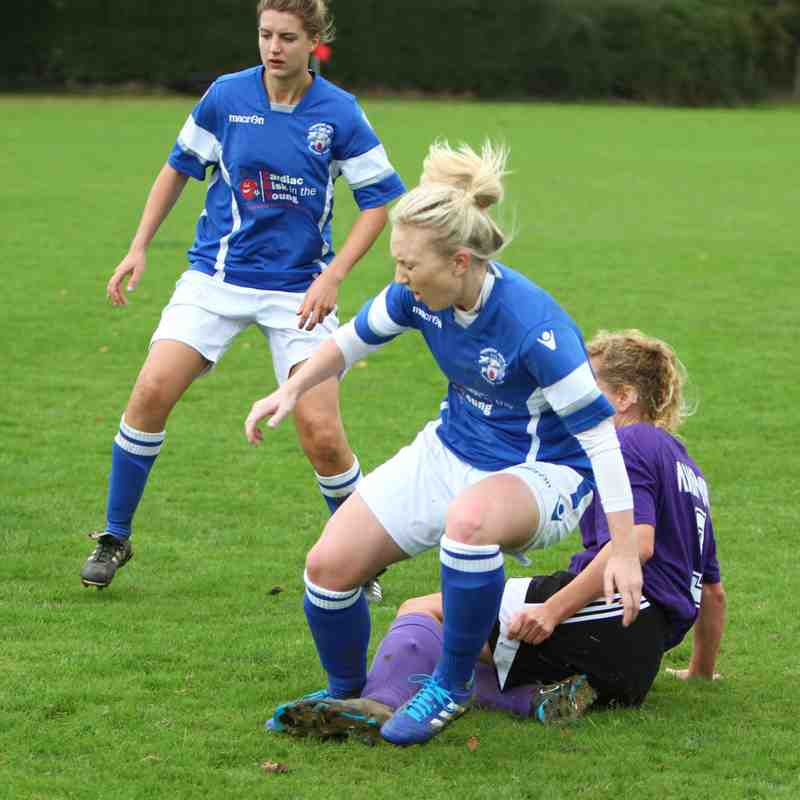 Angels Ladies 6 v 0 Teynham Gunners 01/10/17 by Dave Couldridge