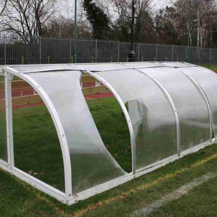 SHEERWATER DUGOUTS DAMAGED BY STORM DORIS
