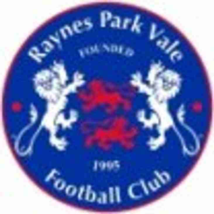 Sheers away to Raynes Park Vale on Saturday 21st April KO 3pm