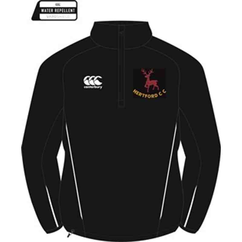 Hertford CC Canterbury 1/4 Zip Fleece SENIOR
