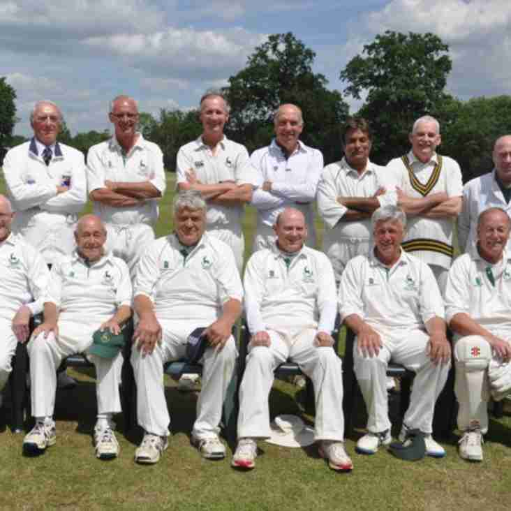 Herts vs. Somerset - O60's National Semi Final!