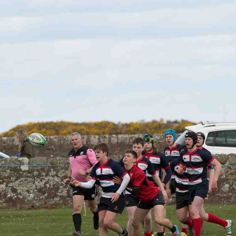 Mackie U15s v Aberdeen Grammer 2016-04-24