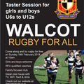 Try Rugby - Free Kids Taster Session