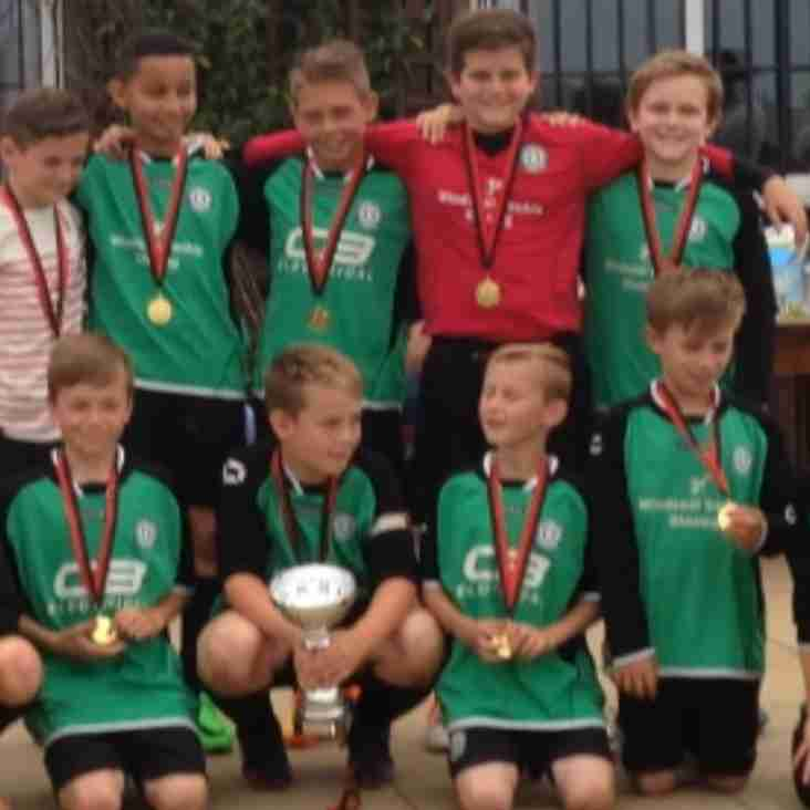 U12's triumphant at Atherstone Tournament