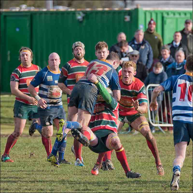 Lincoln 1sts 45 v Mansfield 8