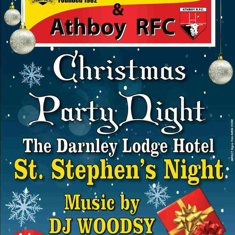 St Stephen Day Party Night