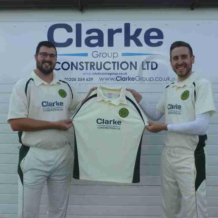 Club thankful for Clarke Construction sponsorship
