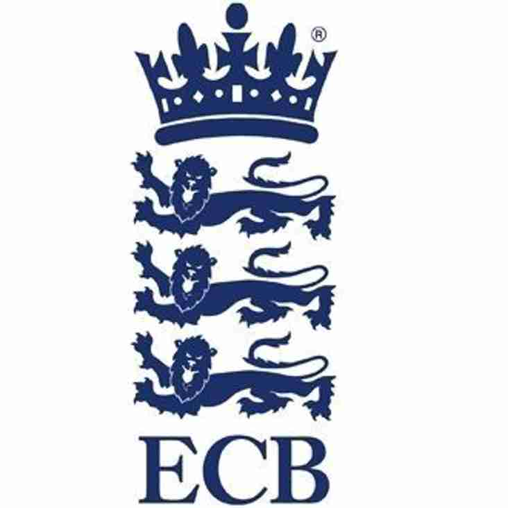 ECB Cricket Playing Survey 2017 - Your Say