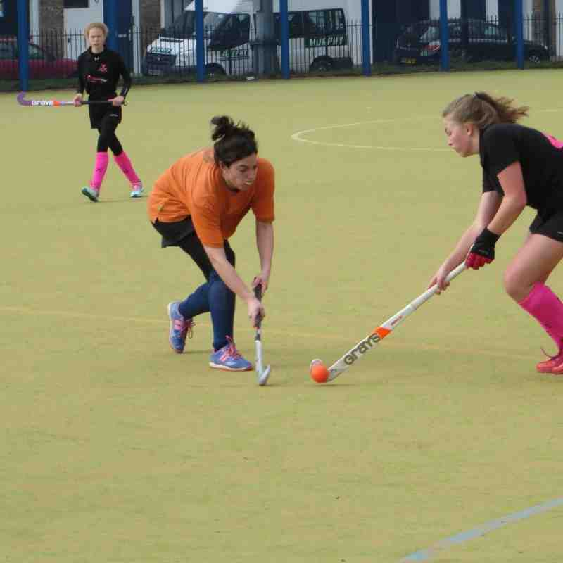 Ladies 3s Match East London 14 March 2015
