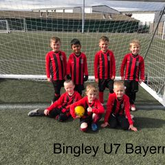 Bingley U7 Teams at the Marley tournament
