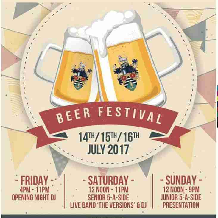 2nd Annual Beer Festival