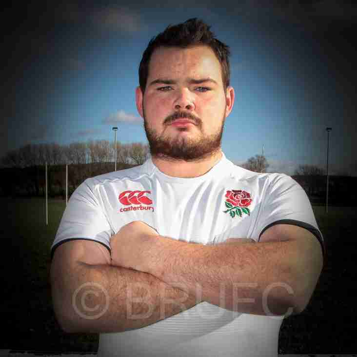 Joshua SPRULES plays for England Deaf