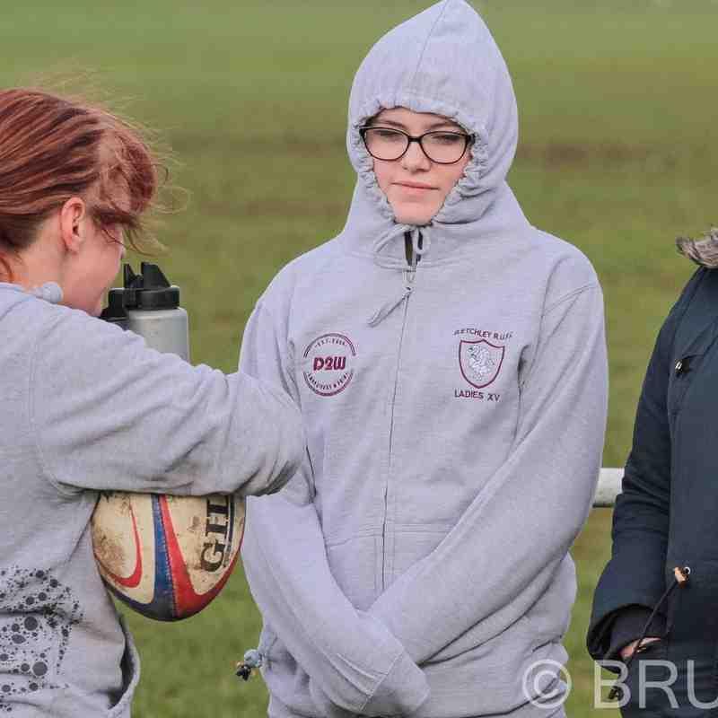 Bletchley Ladies 1st vs cullompton Ladies 1st (Photos By Tom Blackman)