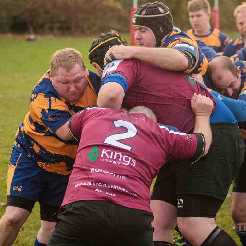 Bletchley 3rds vs Bedford Swifts (Photos By Tom Blackman)