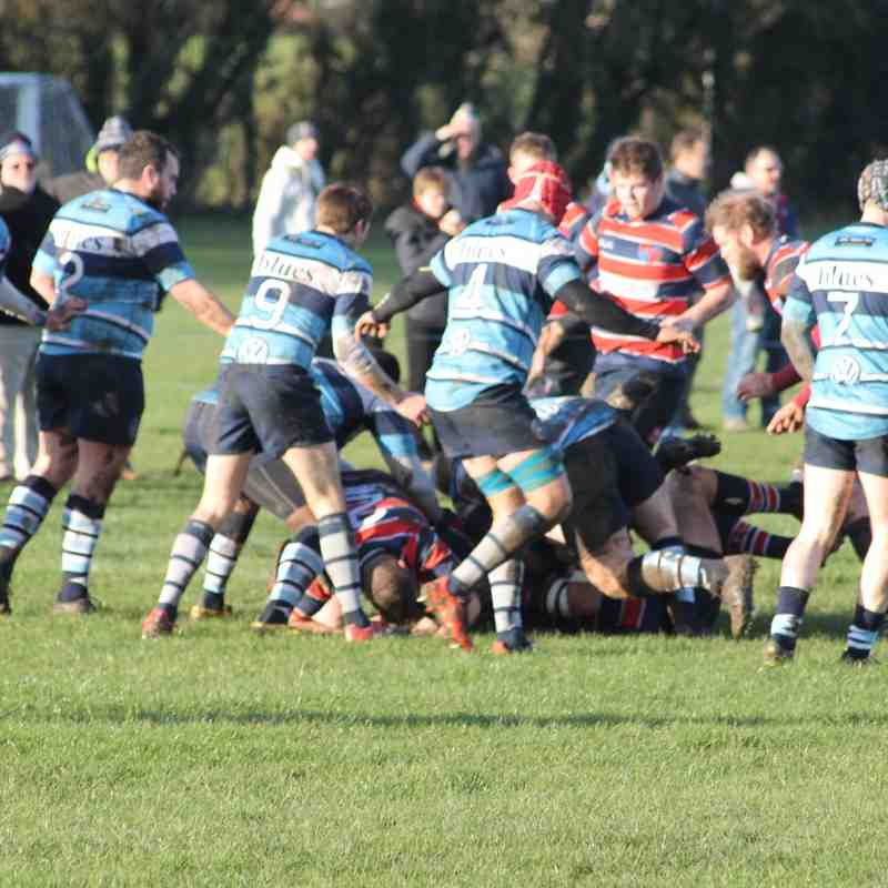 Grove RFC v Newbury Blues RFC 16/01/16