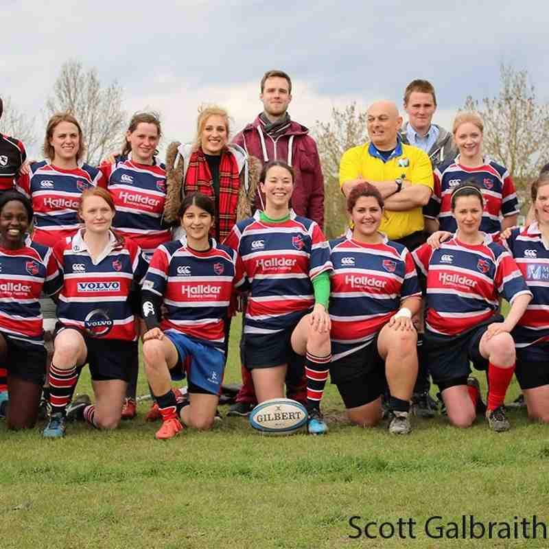 Grove Ladies v Barbarian Select 24/04/16