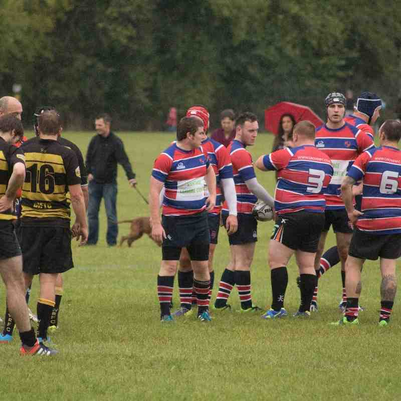 Grove 2nd X1 21 v 18 Wallingford 2nd XI 8 October 2016