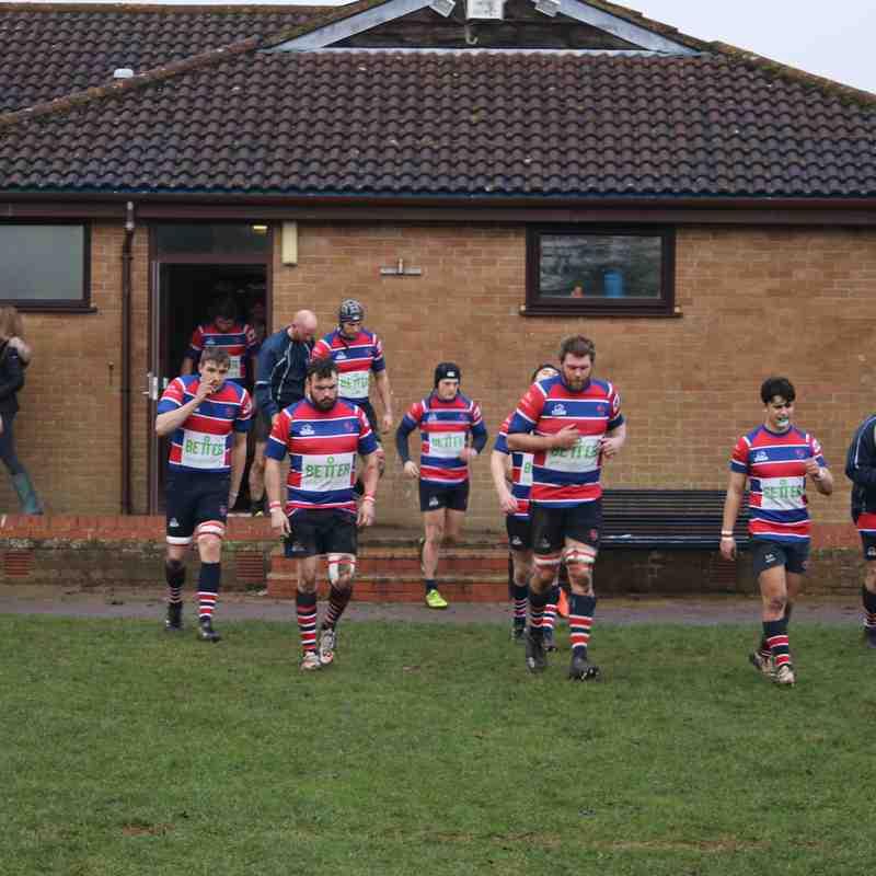 Grove RFC v Banbury RFC January 7 2016