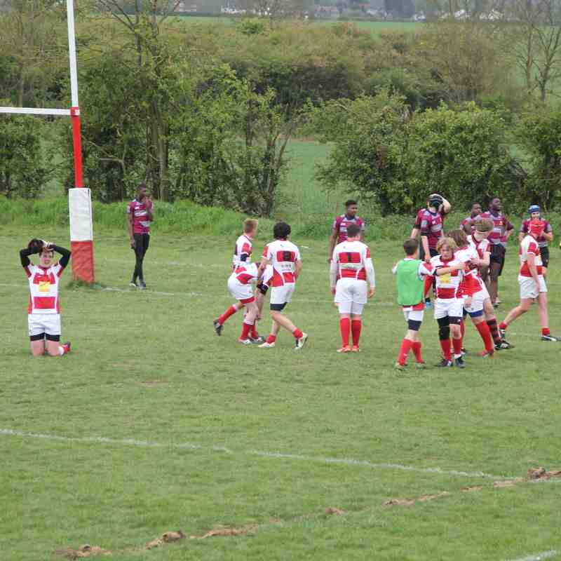 U15s Cup Game