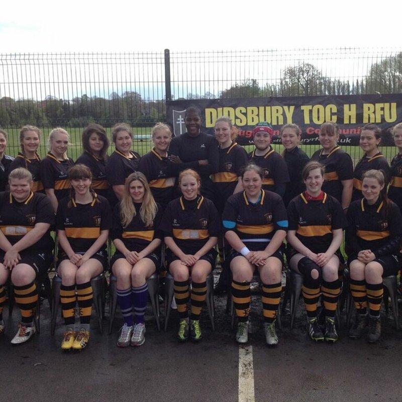 Didsbury Toc H Ladies beat Chester Deva Ladies 0 - 108