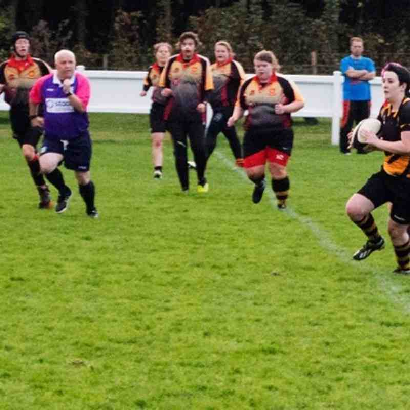 Didsbury Toc H Ladies v Harrogate Ladies RFC - 25th October 2015