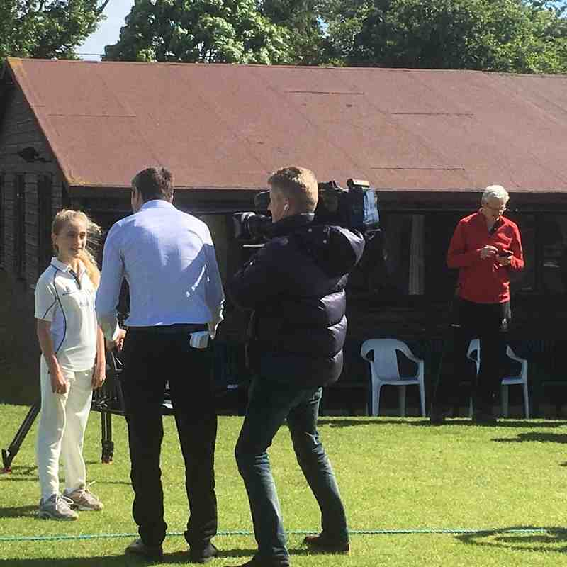 Sky Sports News at Chearsley 2016