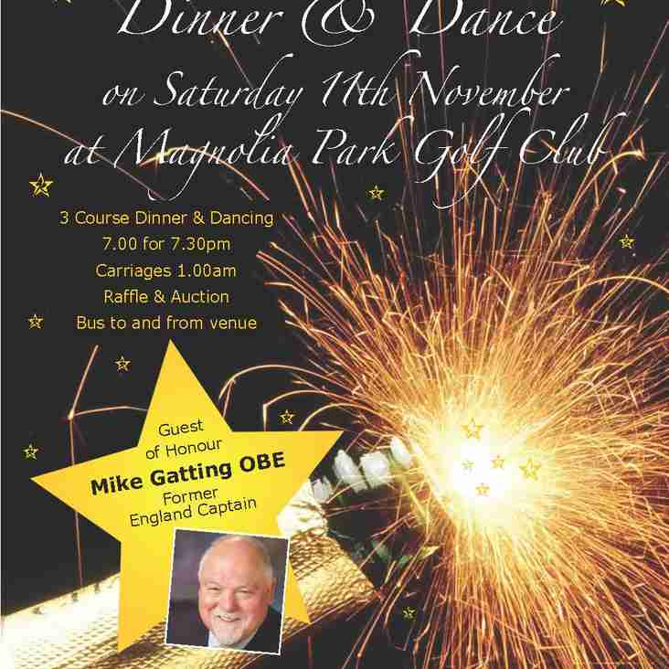 Mike Gatting OBE, will be our special guest at the dinner