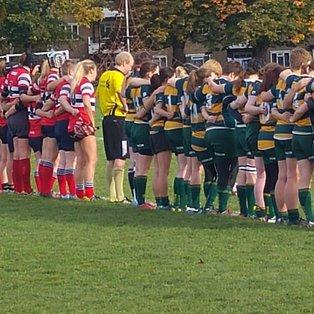 Hammersmith and Fulham Ladies vs Barnes Ladies (25th October 2015)