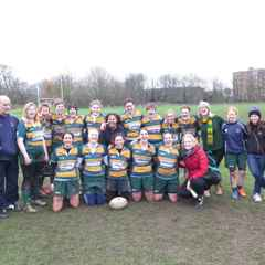 Barnes Ladies vs Hackney Ladies (24th January 2016)