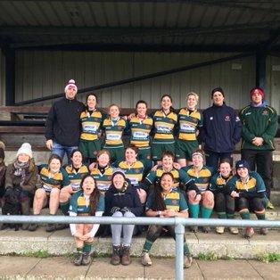 Junior Plate: Lewes Ladies vs Barnes Ladies (28th February 2016)