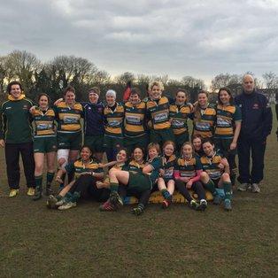 Barnes vs East London Ladies (20th March 2016)