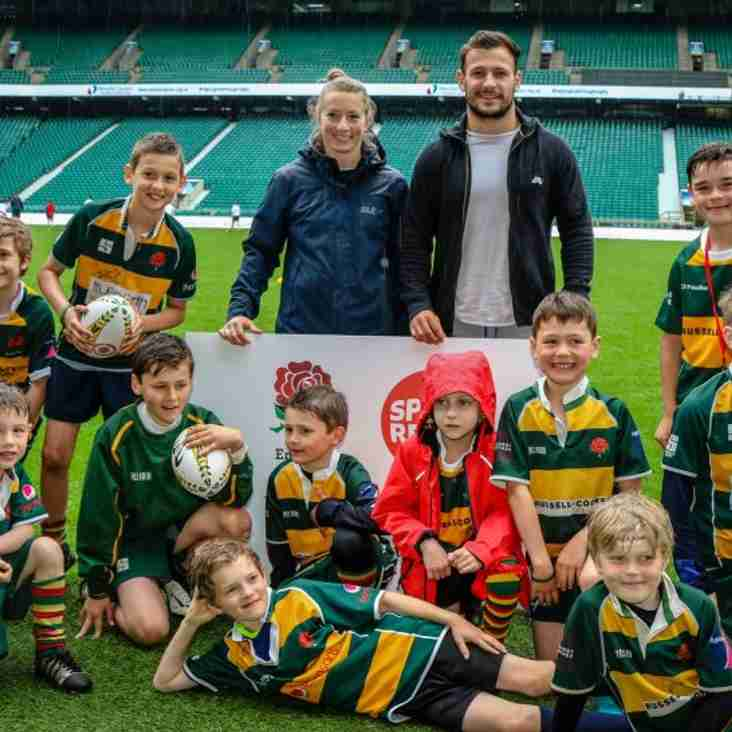 Barnes RFC minis and juniors Twickenham Extravaganza
