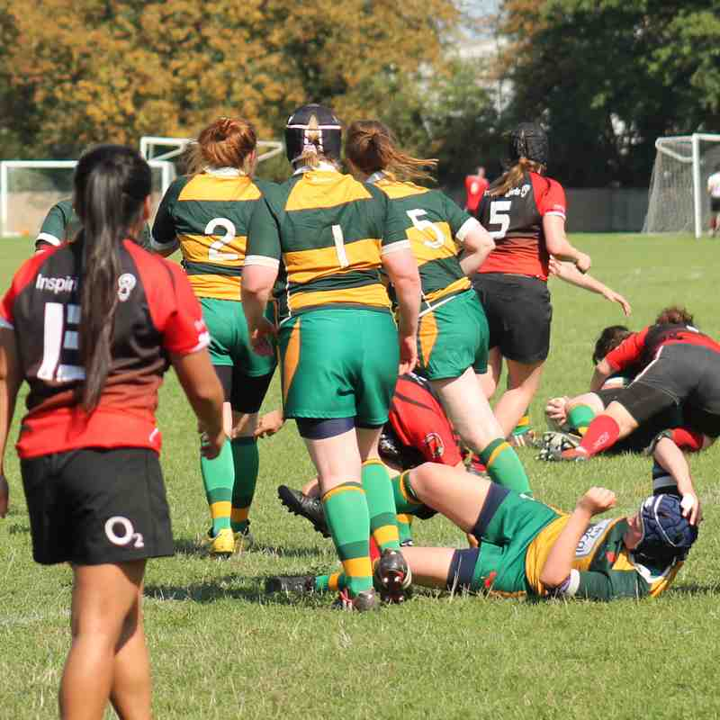 Barnes RFC Ladies 10 - 19 London Welsh Ladies (Friendly): 1st September 2018